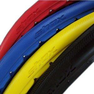 画像1: SHOX Solid Colored Tires (車椅子生活用ノーパンクタイヤ)