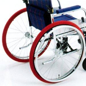 画像1: ホイルソックス(車椅子タイヤカバー)