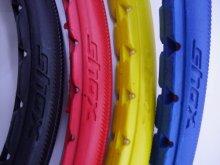 他の写真2: SHOX Solid Colored Tires (車椅子生活用ノーパンクタイヤ)